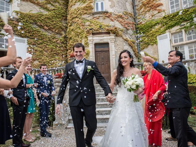 Le mariage de Xavier et Sara à Biras, Dordogne 17