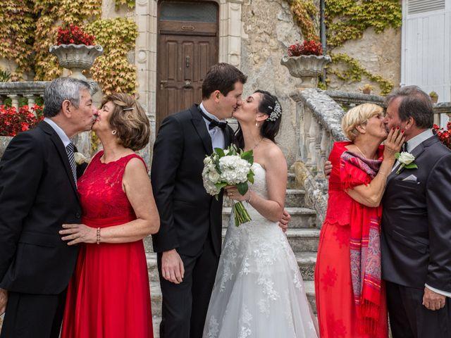 Le mariage de Xavier et Sara à Biras, Dordogne 19