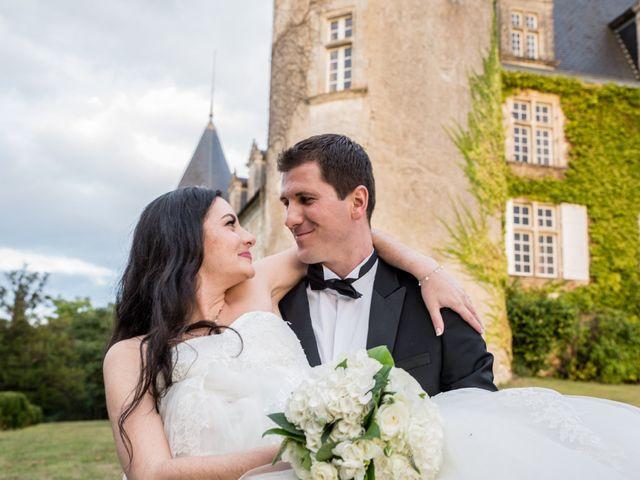 Le mariage de Xavier et Sara à Biras, Dordogne 29