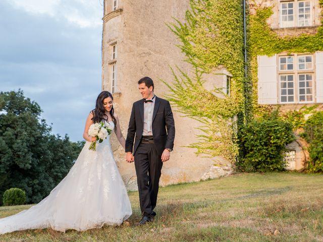 Le mariage de Xavier et Sara à Biras, Dordogne 30