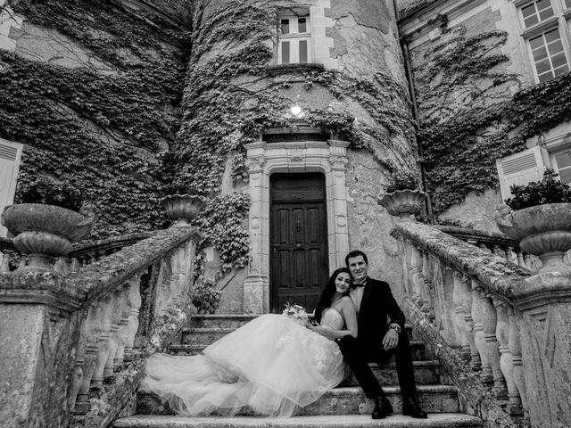 Le mariage de Xavier et Sara à Biras, Dordogne 37