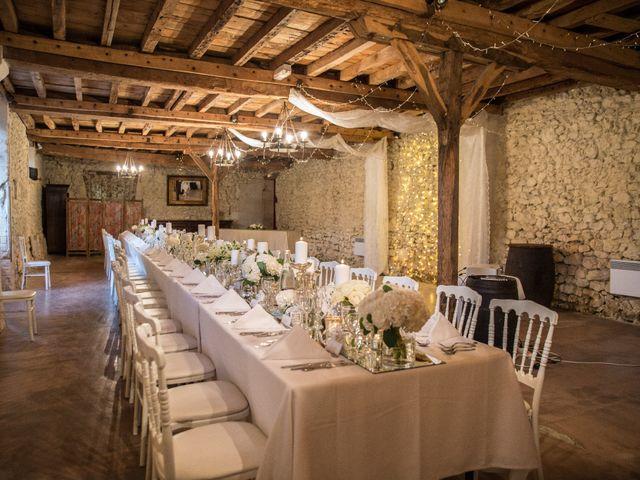 Le mariage de Xavier et Sara à Biras, Dordogne 40