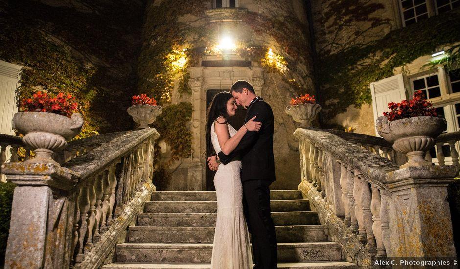 Le mariage de Xavier et Sara à Biras, Dordogne