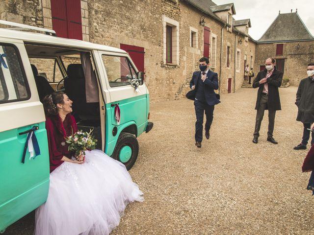 Le mariage de Benjamin et Cécile à Bazoches-en-Dunois, Eure-et-Loir 32