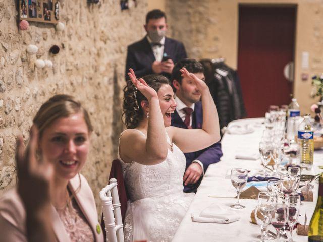 Le mariage de Benjamin et Cécile à Bazoches-en-Dunois, Eure-et-Loir 45