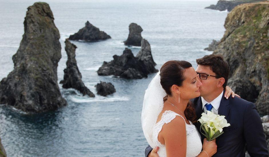 Le mariage de Matthieu et Anne Laure à Bangor, Morbihan