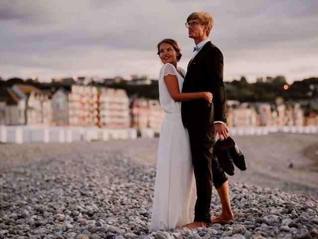 Le mariage de Valentin et Caroline à Bonsecours, Seine-Maritime 2