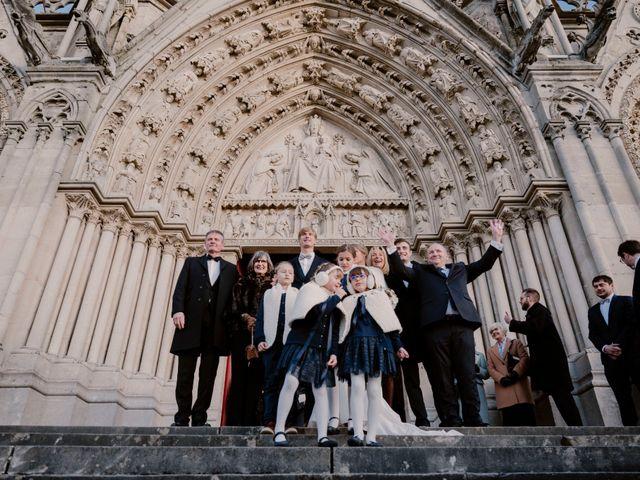 Le mariage de Valentin et Caroline à Bonsecours, Seine-Maritime 12