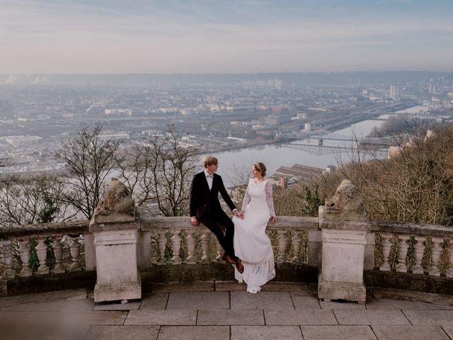 Le mariage de Valentin et Caroline à Bonsecours, Seine-Maritime 13