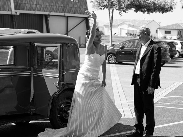 Le mariage de Maxime et Chehrazade à Saint-Lon-les-Mines, Landes 25