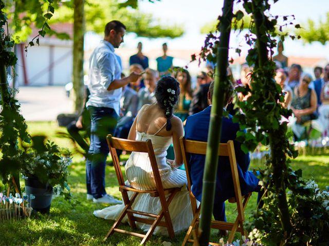 Le mariage de Maxime et Chehrazade à Saint-Lon-les-Mines, Landes 48