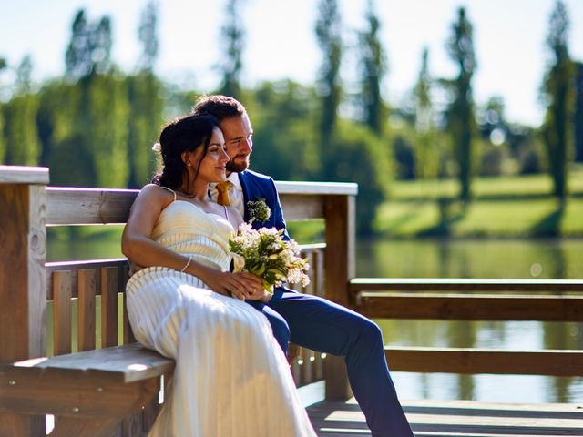 Le mariage de Maxime et Chehrazade à Saint-Lon-les-Mines, Landes 61