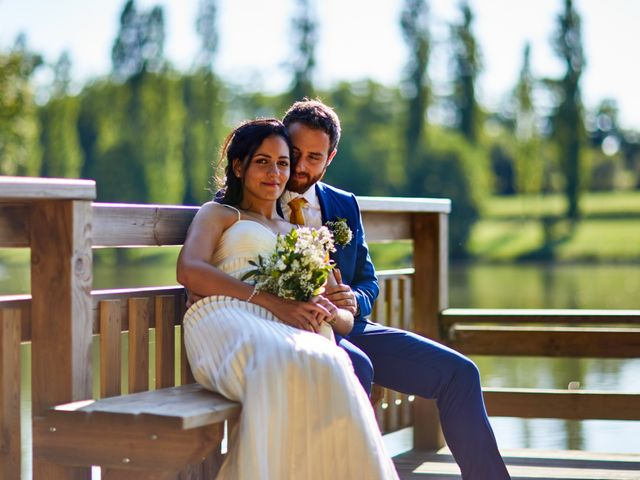 Le mariage de Maxime et Chehrazade à Saint-Lon-les-Mines, Landes 62