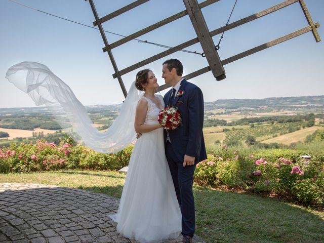 Le mariage de Mathieu et Marie à Sainte-Colombe-de-Villeneuve, Lot-et-Garonne 47