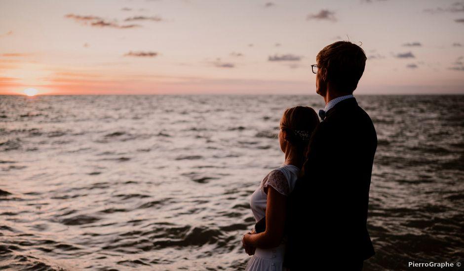 Le mariage de Valentin et Caroline à Bonsecours, Seine-Maritime