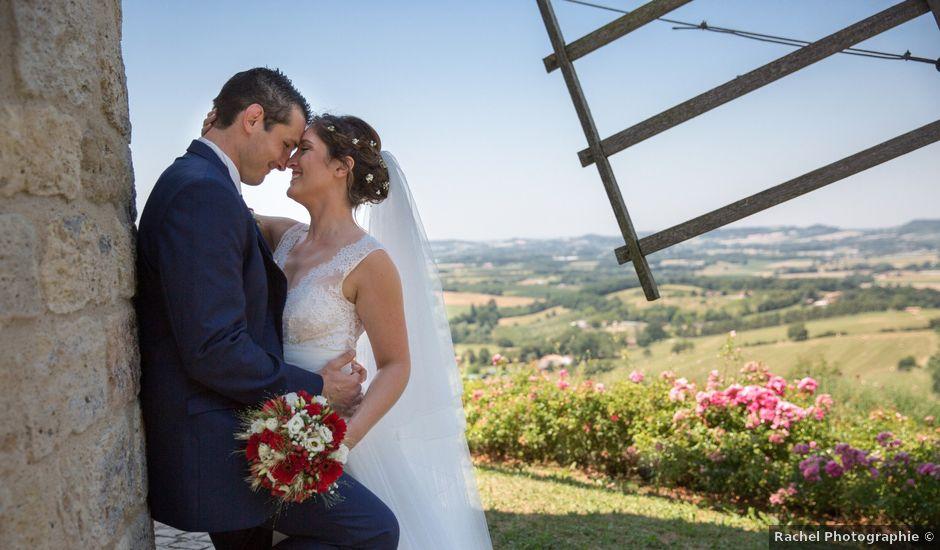 Le mariage de Mathieu et Marie à Sainte-Colombe-de-Villeneuve, Lot-et-Garonne