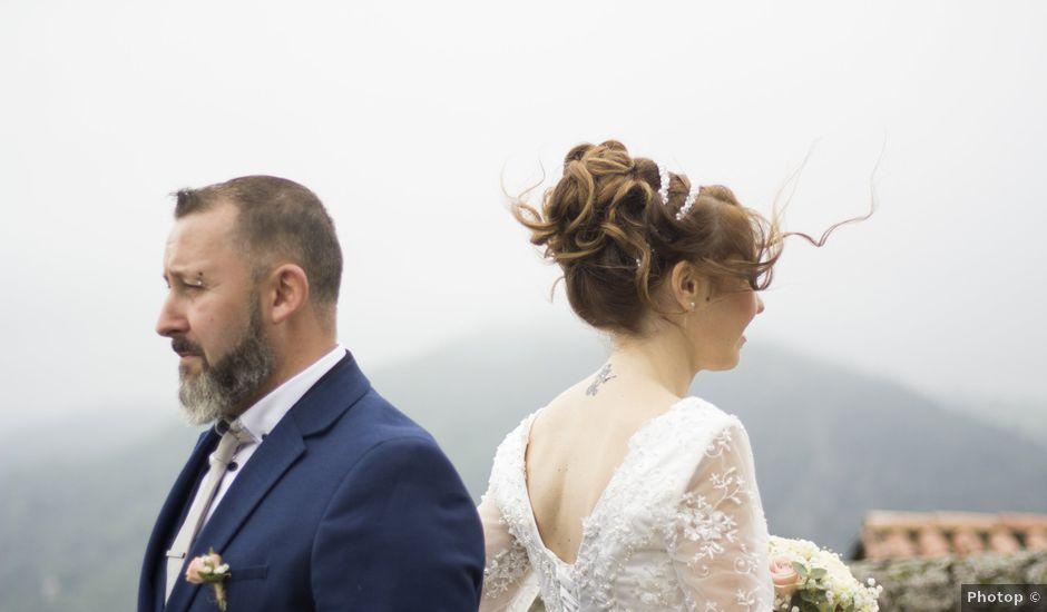 Le mariage de Fabrice et Sarah à Chambles, Loire