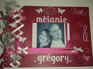 Le mariage de Mélanie et Grégory 1