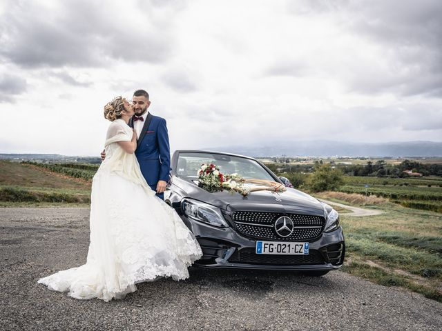 Le mariage de Anthony et Océane à Châteauneuf, Loire 15