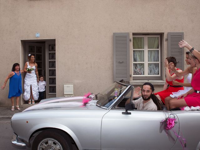 Le mariage de Laura et Jessica à Argentat, Corrèze 4
