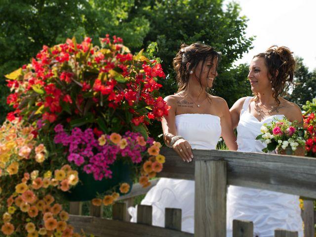 Le mariage de Laura et Jessica à Argentat, Corrèze 1