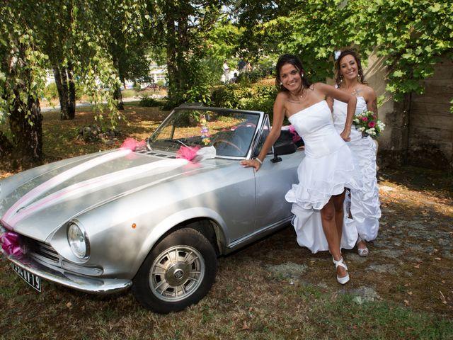 Le mariage de Laura et Jessica à Argentat, Corrèze 2