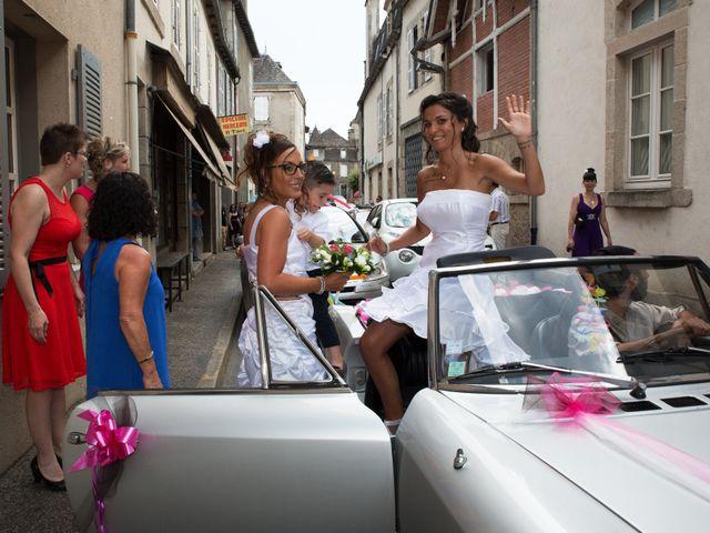 Le mariage de Laura et Jessica à Argentat, Corrèze 18
