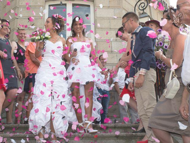 Le mariage de Laura et Jessica à Argentat, Corrèze 19