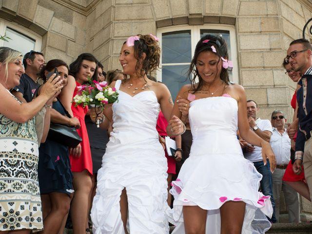 Le mariage de Laura et Jessica à Argentat, Corrèze 20