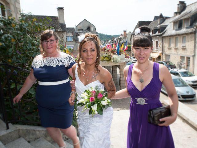 Le mariage de Laura et Jessica à Argentat, Corrèze 27