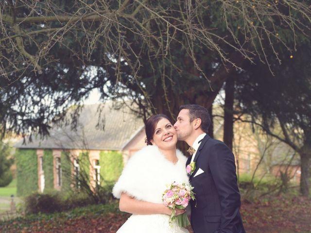 Le mariage de Fabien et Audrey à Beuvrages, Nord 5