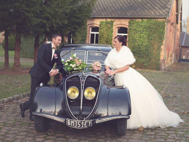 Le mariage de Fabien et Audrey à Beuvrages, Nord 7
