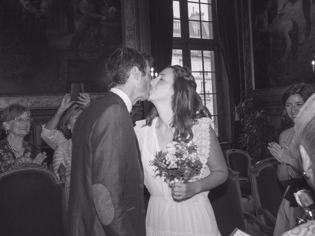 Le mariage de David et Maria à Saint-Denis-d'Orques, Sarthe 6