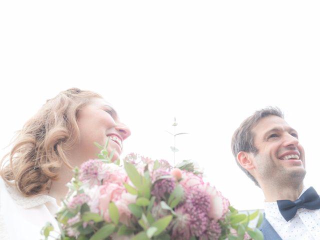 Le mariage de David et Maria à Saint-Denis-d'Orques, Sarthe 10