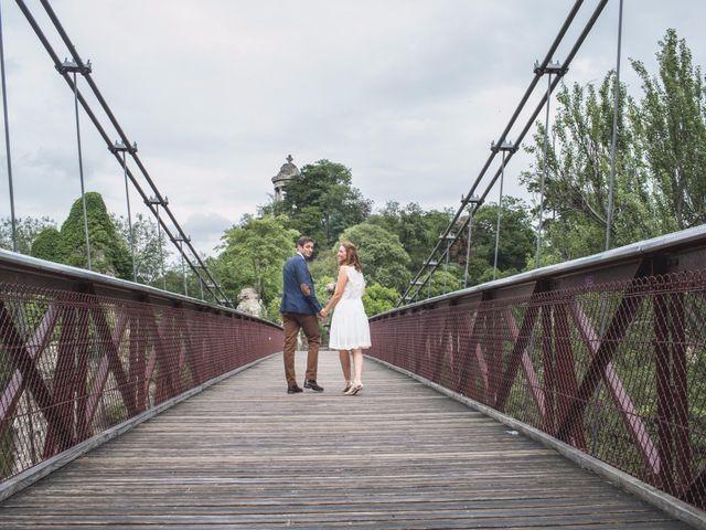 Le mariage de David et Maria à Saint-Denis-d'Orques, Sarthe 11