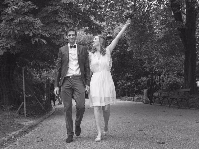 Le mariage de David et Maria à Saint-Denis-d'Orques, Sarthe 12