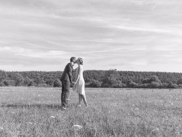 Le mariage de David et Maria à Saint-Denis-d'Orques, Sarthe 25