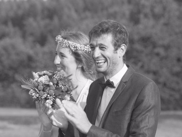 Le mariage de David et Maria à Saint-Denis-d'Orques, Sarthe 32