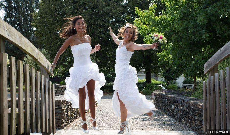 Le mariage de Laura et Jessica à Argentat, Corrèze