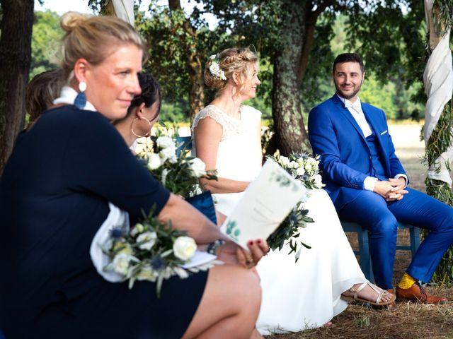 Le mariage de Mickael et Barbara à Escalans, Landes 32