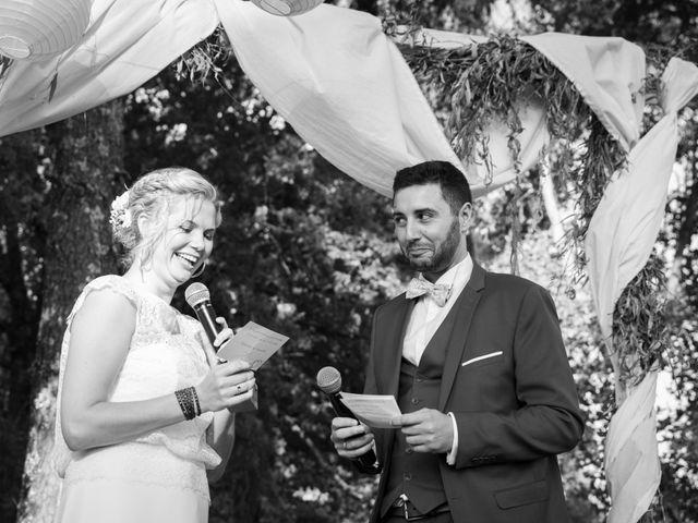 Le mariage de Mickael et Barbara à Escalans, Landes 34