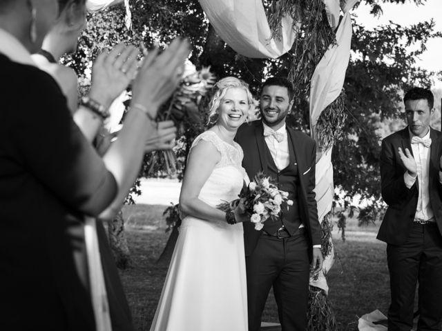 Le mariage de Mickael et Barbara à Escalans, Landes 35