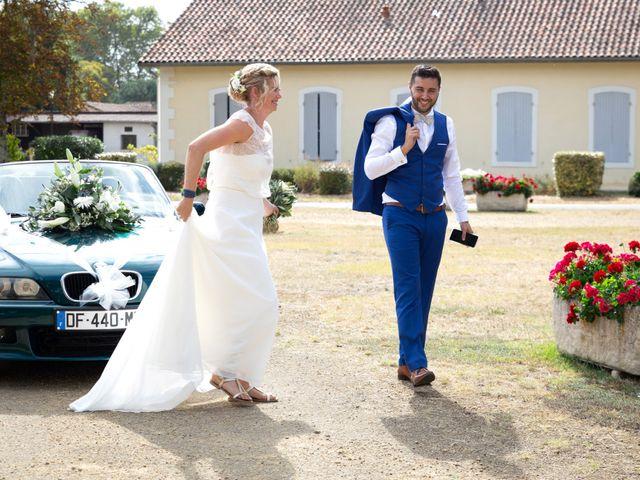 Le mariage de Mickael et Barbara à Escalans, Landes 41