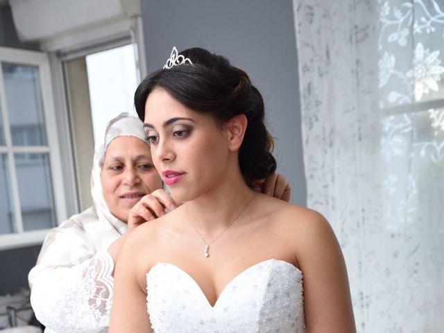 Le mariage de Walid et Baya à Paris, Paris 8