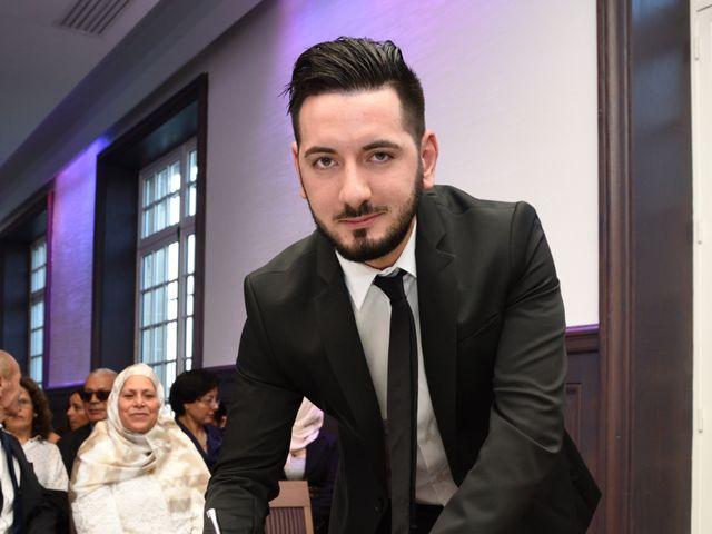 Le mariage de Walid et Baya à Paris, Paris 11