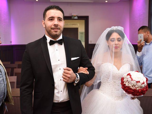 Le mariage de Walid et Baya à Paris, Paris 18