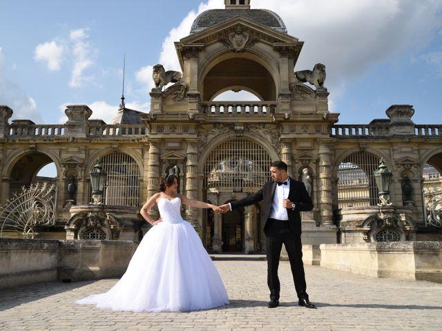 Le mariage de Walid et Baya à Paris, Paris 24