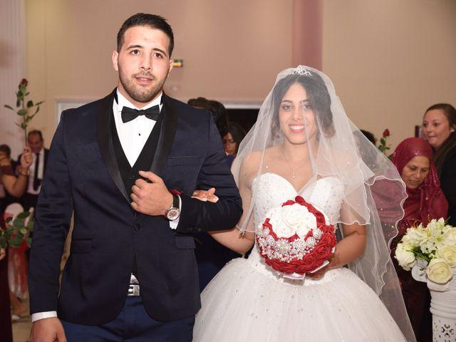 Le mariage de Walid et Baya à Paris, Paris 33