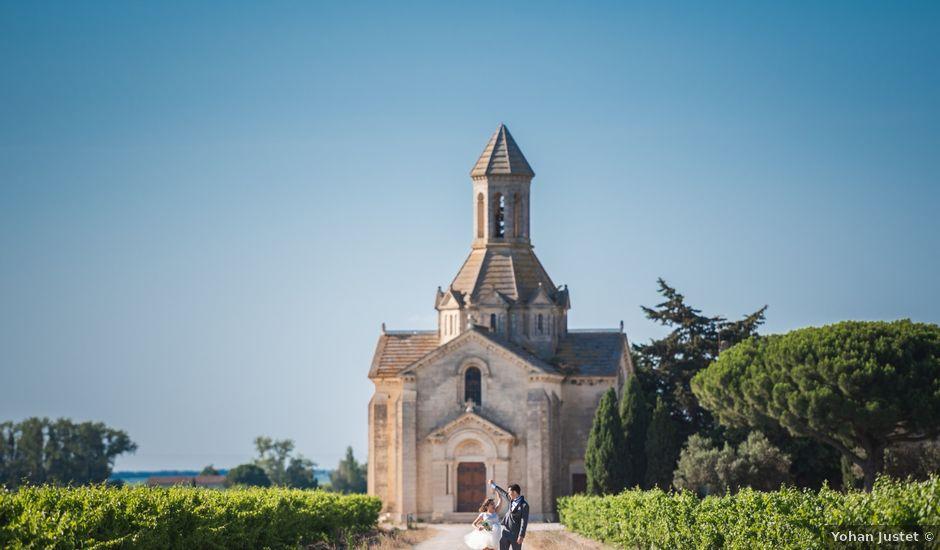 Le mariage de Martin et Charlotte à Saint-Laurent-d'Aigouze, Gard