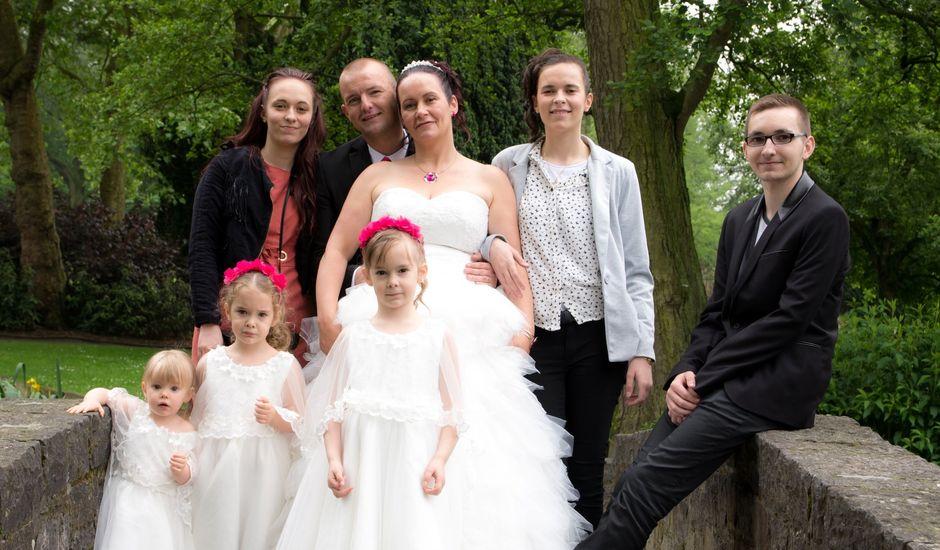 Le mariage de julien et virginie à Marcq-en-Baroeul, Nord